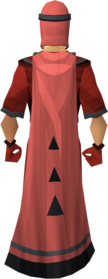 Unhallowed cloak equipped.png: Unhallowed cloak equipped by a player