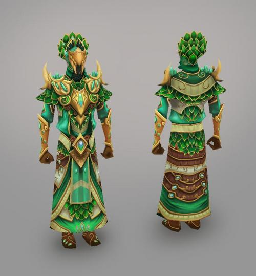 Elven city magic warrior model art.jpg