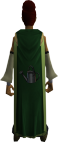 Farming cape (t) equipped.png: Farming cape (t) equipped by a player