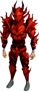 Dragon armour (sp) (heavy) equipped (male).png: Dragon full helm (sp) equipped by a player