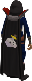 Retro slayer cape equipped.png: Slayer cape equipped by a player