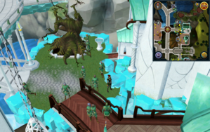 Scan clue Prifddinas Crwys south-east of elder tree patch.png