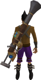 Fishing rod-o-matic equipped.png: Fishing rod-o-matic equipped by a player