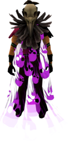 Soul cape (shadow) equipped.png: Soul cape (shadow) equipped by a player