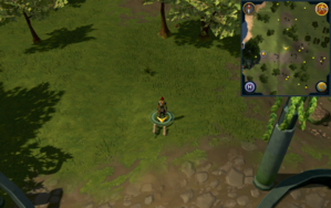 Scan clue Piscatoris Hunter area on western coastline, west of deadfall trap.png
