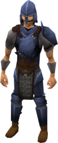 Academy armour equipped.png: Academy platebody equipped by a player