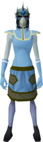 Reinforced slayer helmet (ef) (green) equipped.png: Reinforced slayer helmet (ef) (green) equipped by a player