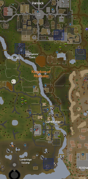 Distractions and Diversions/Locations - The RuneScape Wiki
