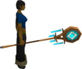 Banner of Seren (tier 2) equipped.png