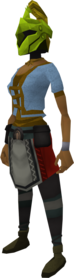 Rune heraldic helm (Jogre) equipped.png: Rune heraldic helm (Jogre) equipped by a player
