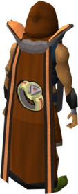 Retro dungeoneering cape (t) equipped.png: Dungeoneering cape (t) equipped by a player
