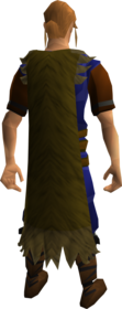 Eagle cape equipped.png: Eagle cape equipped by a player