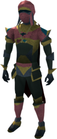 Lunar armour (red) equipped (male).png: Lunar boots (red) equipped by a player