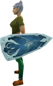 Rune kiteshield (t) equipped.png: Rune kiteshield (t) equipped by a player