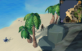 Compass clue Cyclosis by salty crabletines, between 4 palm trees.png