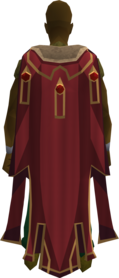 Max cape equipped.png: Max cape equipped by a player