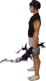 Off-hand drygore longsword (shadow) equipped.png: Augmented off-hand drygore longsword (shadow) equipped by a player