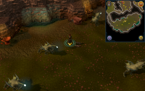 Scan clue Fremennik Slayer Dungeon north of centre of aquanite chamber.png