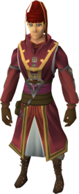 Diviner's outfit equipped (male).png: Diviner's legwear equipped by a player