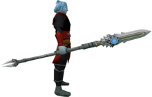Augmented sunspear (magic) equipped.png: Augmented Sunspear (magic) equipped by a player