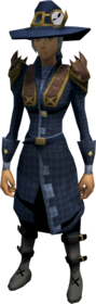 Investigator's outfit equipped (female).png: Investigator's coat equipped by a player