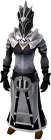 Superior elite void knight armour (guardian) equipped (female).png: Superior elite void knight robe (guardian) equipped by a player