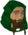 Wolf hunter chathead.png: Chat head image of Wolf hunter