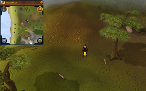 Scan clue Piscatoris Hunter area north-west of Eagles' Peak.png