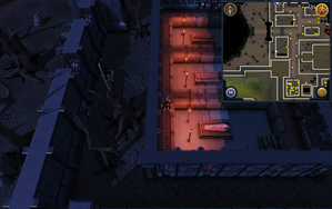 Scan clue Darkmeyer inside house with 3 coffins south of Castle Drakan entrance.png
