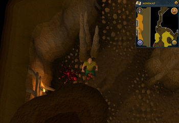 Cryptic clue Karamja Volcano Red Spider Red spider's eggs.png