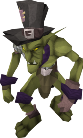 Purple goblin mail equipped.png: Purple goblin mail equipped by a player