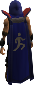 Retro agility cape equipped.png: Agility cape equipped by a player