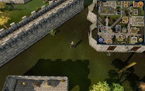 Compass clue Varrock northeast of horvik armour shop.png