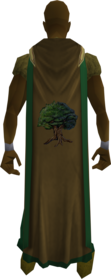 Woodcutting cape (t) equipped.png: Woodcutting cape (t) equipped by a player