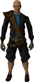 Brawling gloves (Smithing) equipped.png: Brawling gloves (Smithing) equipped by a player