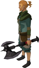Off-hand_black_battleaxe_equipped.png: Off-hand black battleaxe equipped by a player