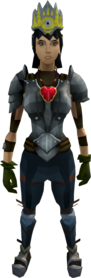 Hard task set equipped (female).png: Seer's headband 3 equipped by a player