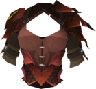 Blessed dragonhide body (Zamorak) detail.png