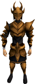 Corrupt dragon armour (light) equipped (male).png: Corrupt dragon helm equipped by a player
