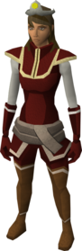 Cosmic tiara equipped.png: Cosmic tiara equipped by a player