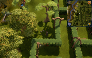 Compass clue Tree Gnome Village south-east of fruit tree patch.png