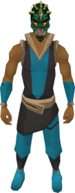Helm of Darkness equipped.png: Helm of Darkness equipped by a player