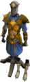 Warpriest of Saradomin armour on stand.png
