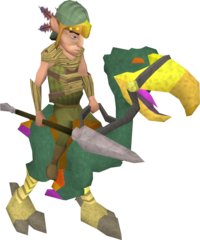 Mounted terrorbird gnome.png