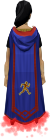 Agility master cape equipped.png: Agility master cape equipped by a player