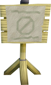 Cart track sign.png
