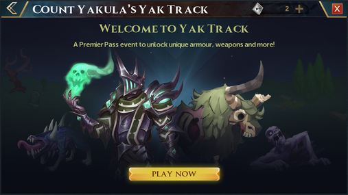 Yak Track welcome interface.png