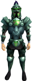 Adamant armour (h4) (heavy) equipped (male).png: Adamant helm (h4) equipped by a player