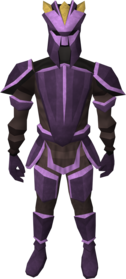 Novite armour (heavy) equipped (male).png: Novite boots equipped by a player