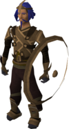 A player wearing chaos equipment